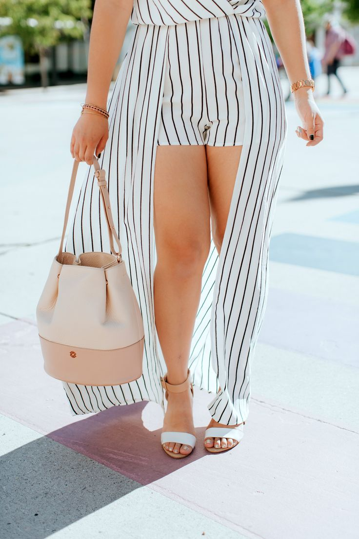 2 Ways To Style Black and White Stripes by Utah fashion blogger Sandy A La Mode