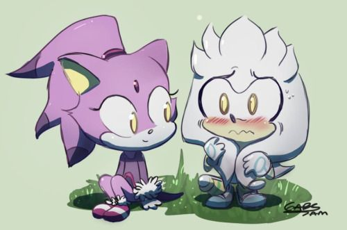Thats maybe the cutest silver, blaze pic ive ever seen.