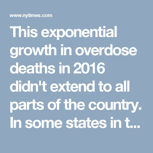 In some states in the western half of the U.S., our data suggests deaths may have leveled off or even declined. According to a professor of the University of California, San Francisco, and an expert in heroin use in the United States, this geographic variation may reflect a historical divide in the nation's heroin market between the powdered heroin generally found east of the Mississippi River and the Mexican black tar heroin found to the west.