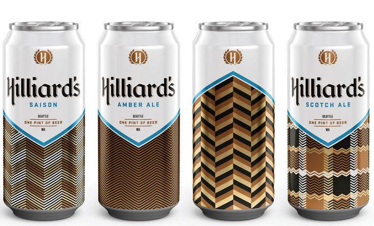 Hilliard's Beer Cans