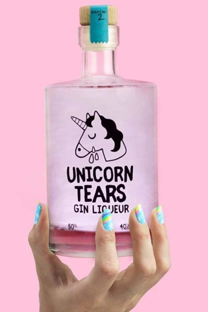 Unicorn Tears Gin Liqueur Is Here to Make Your Cocktails Magical AF