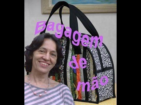 Bolsa Bagagem de mão patchwork - YouTube