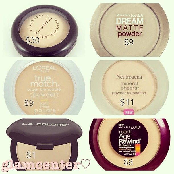 .@glamcenter   Revelon nearly naked powder is also pretty close #dupe #dupes #dupeoftheday #...