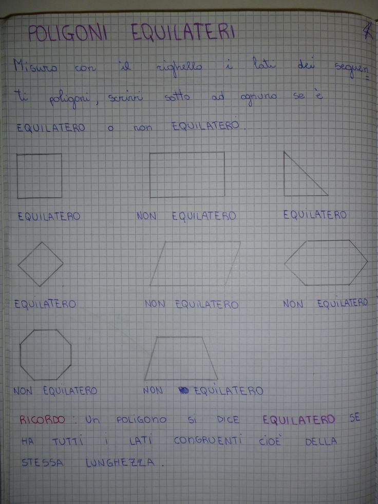 POLIGONI qui potete scaricarlo in formato PDF Vi aspetto sulla mia pagina di FB che trovate QUI RICORDATI DI METTERE ' MI PIACE' ALLA PAGINA FACEBOOK P