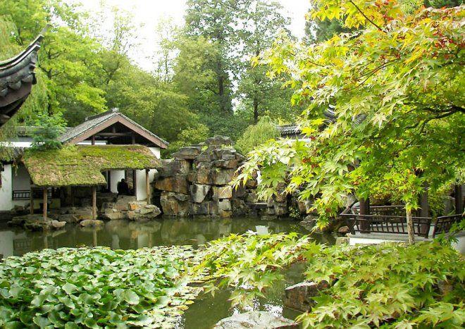 Chinesischer Garten In Bochum Chinesischer Garten Botanischer Garten Tagesausflug