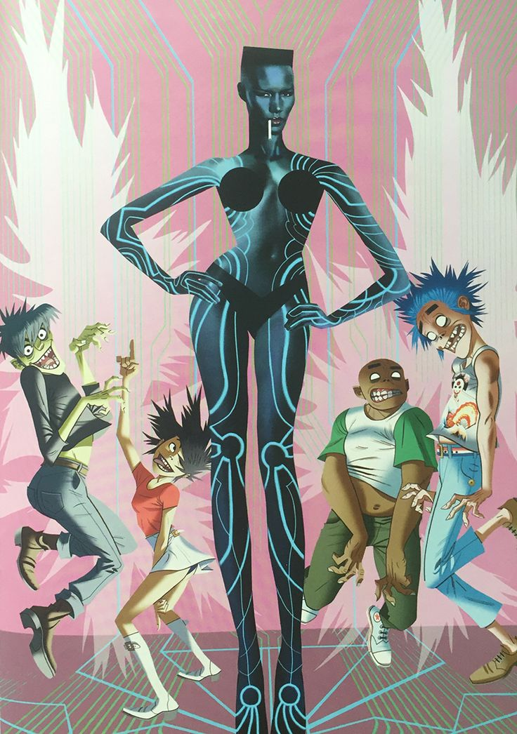 Gorillaz by Jamie Hewlett