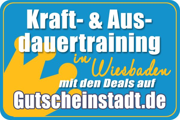 Mit Glück günstig ins #Fitnessstudio in #Wiesbaden mit #Gutscheinstadt