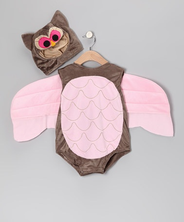 Take a look at this Brown & Pink Owl Bodysuit & Hood - Infant by Just Pretend on #zulily today!: Mom Baby, Brown, Kids Clothing, Cute Halloween Costumes, Pink Owl, Baby Stuff, Owl Bodysuit, Baby Caddel, The Roller Coasters