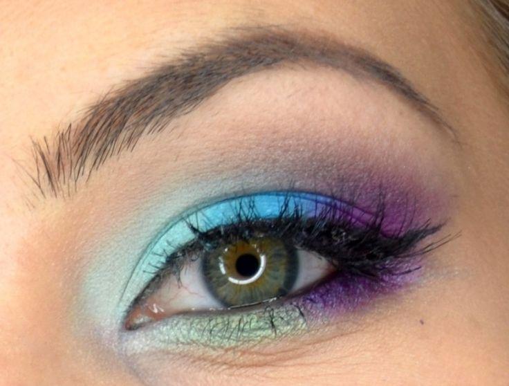 maquillage yeux danseuse classique