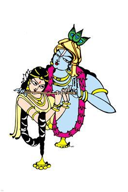 bapu bommalu -Radha Krishna
