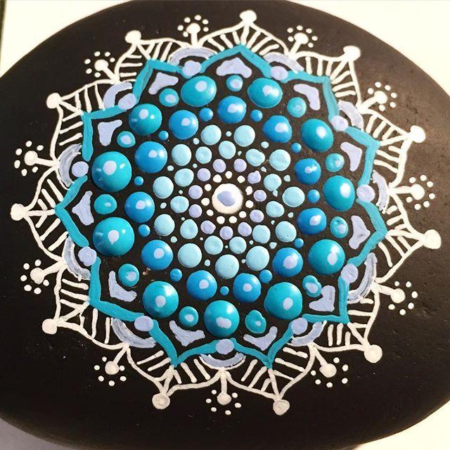 #paintedstones #art #artist #arte #artshelp #instaartist #mandala #mandaladesign…