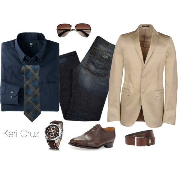 A fashion look from October 2014 featuring Buffalo David Bitton jeans and John Lobb shoes. Browse and shop related looks.