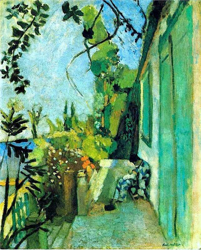 Matisse, Terrazza a Saint Tropez, 1904