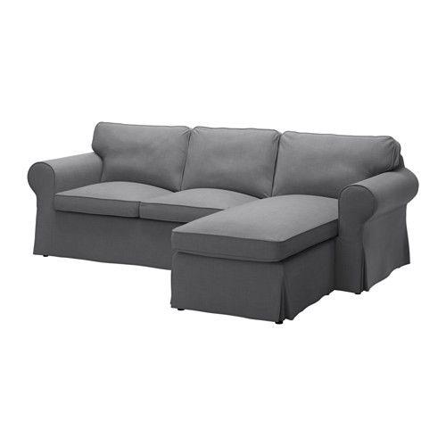 EKTORP 2-sits soffa och schäslong IKEA
