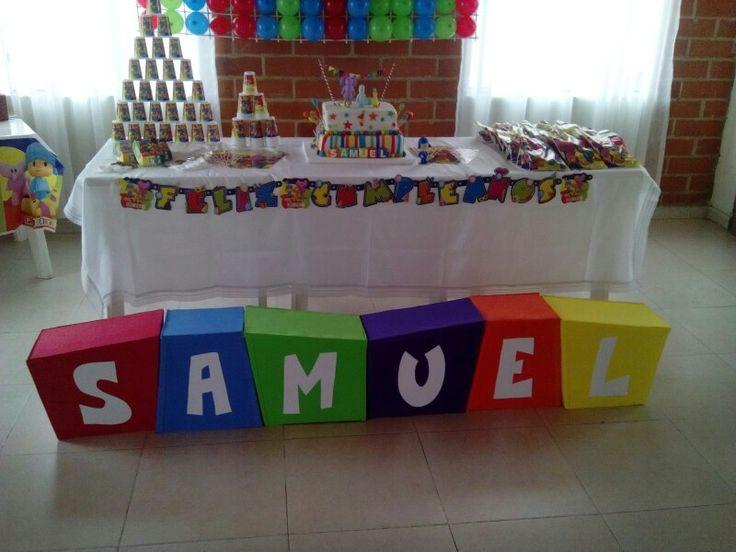 Decoración Cumpleaños Pocoyo