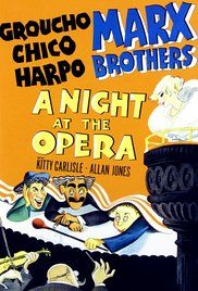 A Night at the Opera Poster