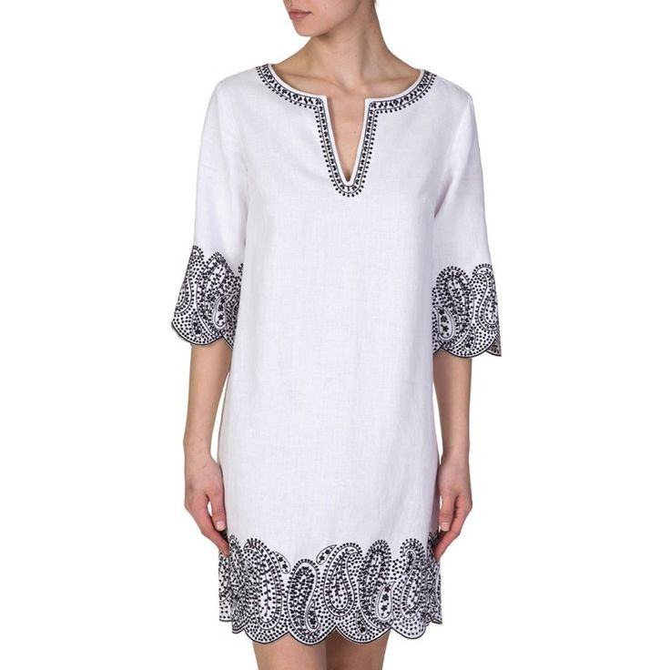 Michael Kors White Embroidered Dress - Dresses