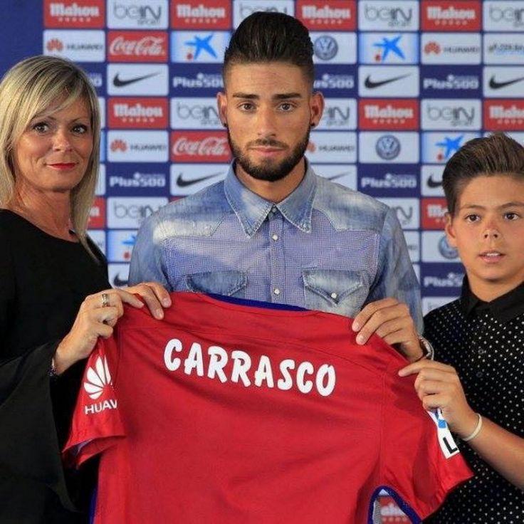 Yannick Carrasco,nuevos jugadores del Atlético de Madrid 2015 2016