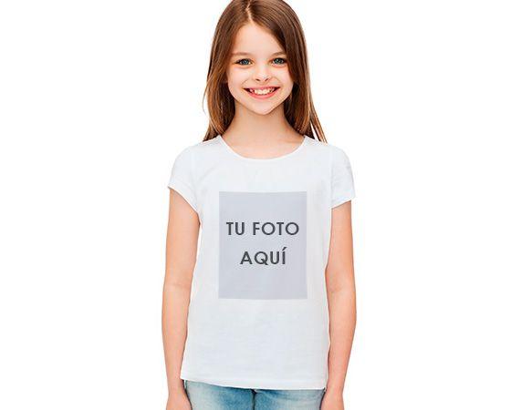 Camiseta infantil personalizada de poliéster
