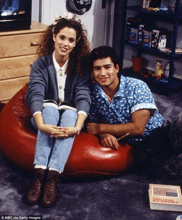 A Young Start: Berkley's first starring role as Jessie Spano in Saved By The Bell, with Ma...