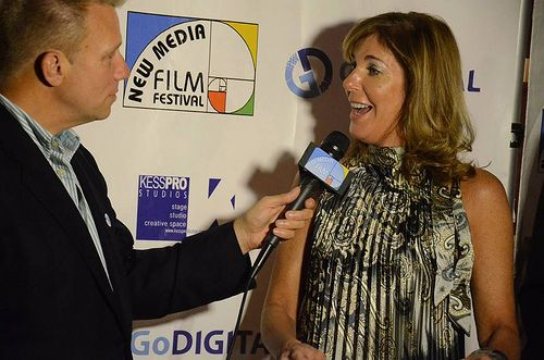 On the Red Carpet w Host GoHarrison. Pic-FJPhotography