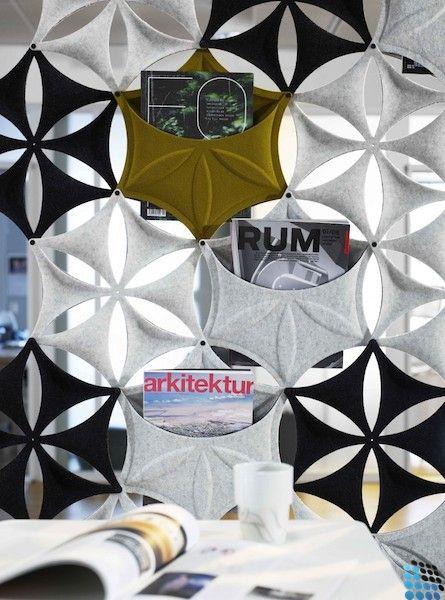 Airflake - rideau acoustique                                                                                                                                                                                 Plus