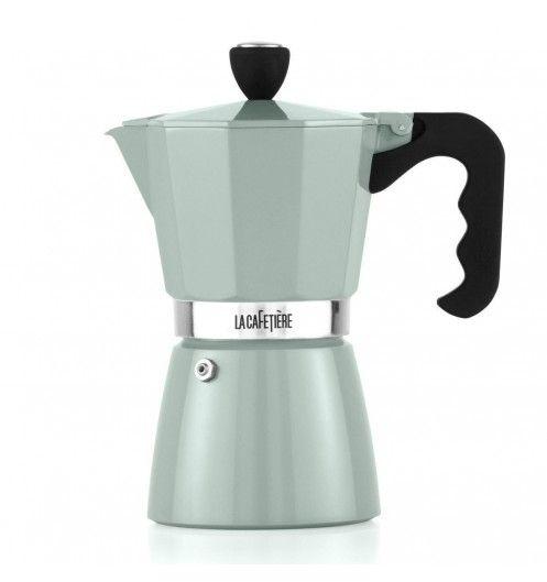 Une cafetière au design ancien pour les amateurs de café à l'italienne.