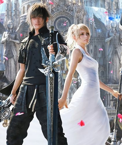 Noctis and Luna Final Fantasy 15