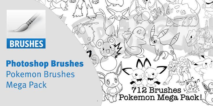 Photoshop Pokemon Brushes