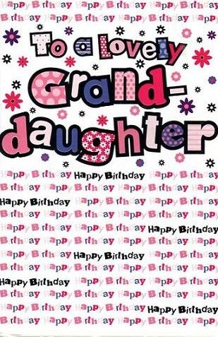 Birthday Quotes For Granddaughters