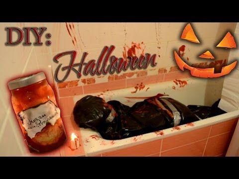 Идеи на Хеллоуин | DIY: Halloween - YouTube