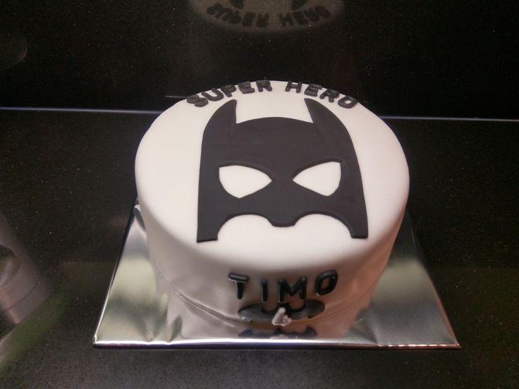 Batman taart