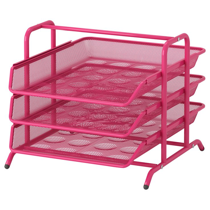 DOKUMENT Letter tray - pink - IKEA. $8.99. This is the best letter tray/inbox.