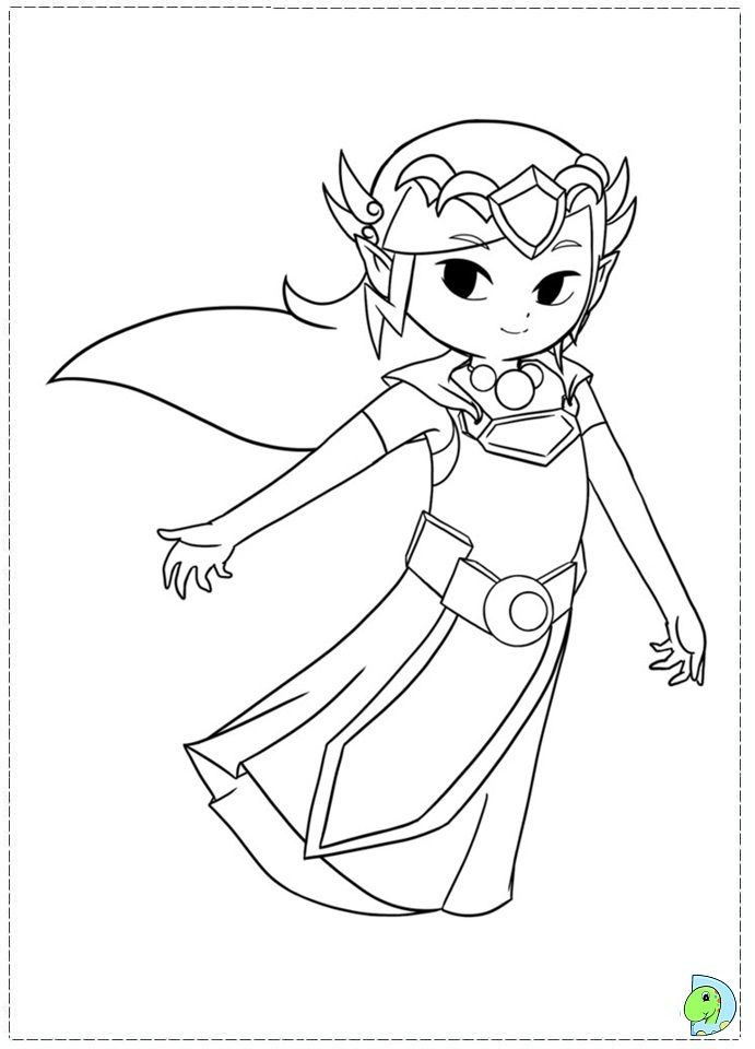 legend of zelda coloring pages google search