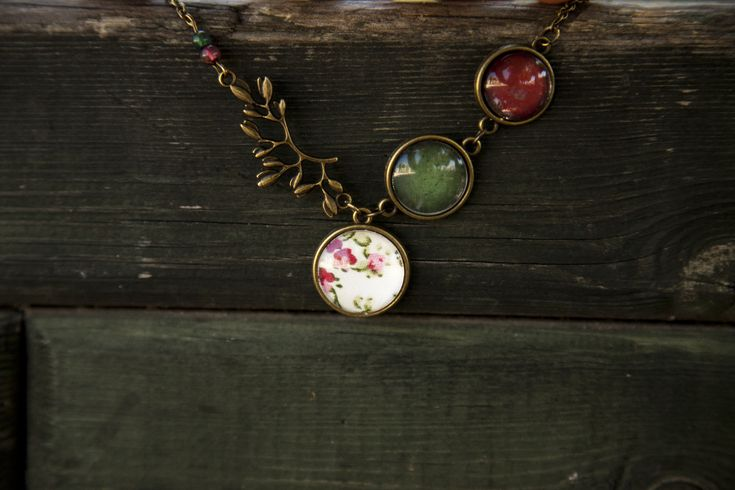 Ilianne | Jewelry Made of Love - Fall Floral Necklace