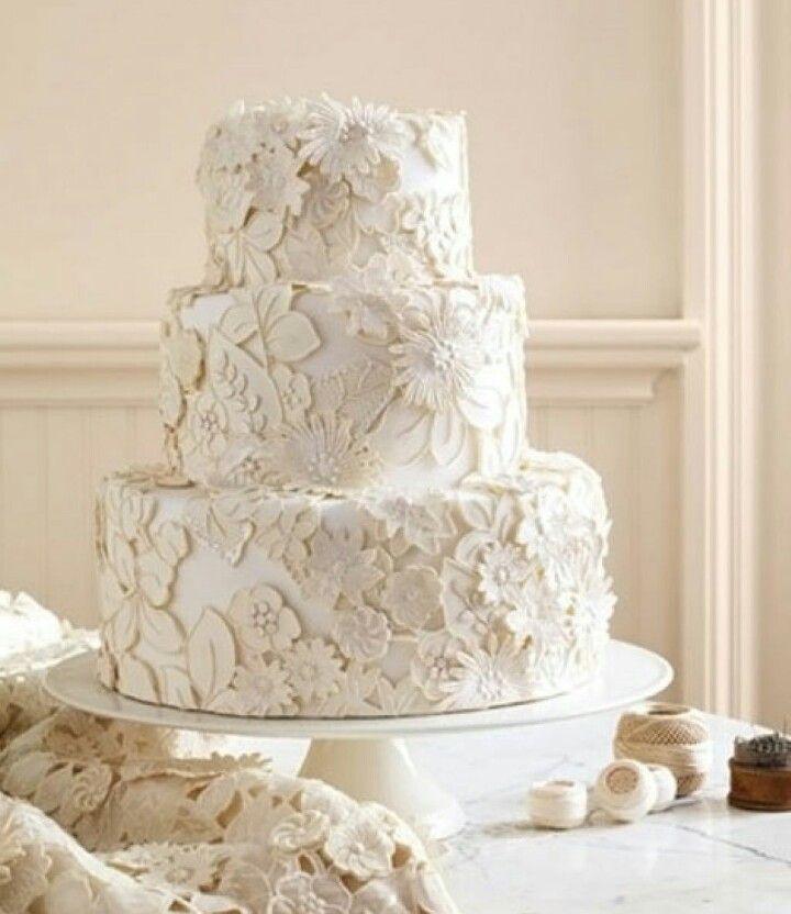 87 Best Lace Cakes Images On Pinterest
