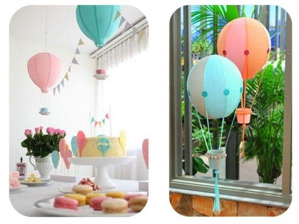 Globos aerostaticos  Hot air balloons