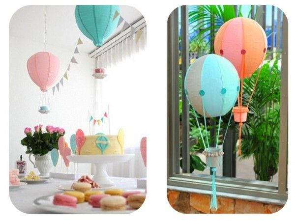 17 best images about baby shower abi on pinterest hot - Globos para decorar ...
