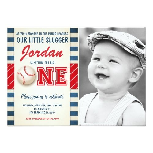 Sports Birthday Invitations Baseball birthday invitation Birthday Party boys