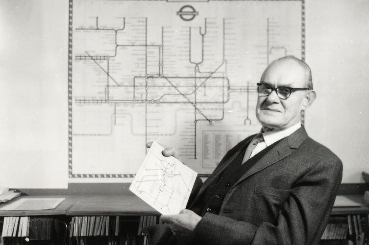 Meet Harry Beck, the genius behind London's iconic subway map | The Verge