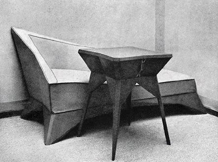 cubism furniture. czech cubist furniture cubism l