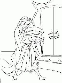Omalovánky Na Vlásku - Král a Královna k vytisknutí online (755)