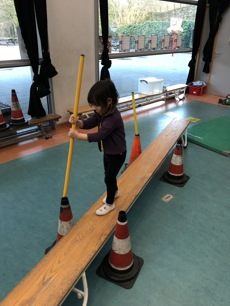 Move the stick from one cone to another. Great for eye-hand coordination and aiming.