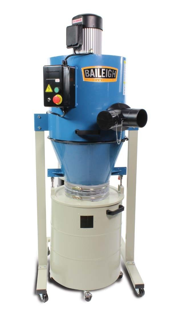 Cyclone Dust Extractor Dc 1450c Baileigh Industrial
