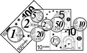 Ejercicios con monedas y billetes €