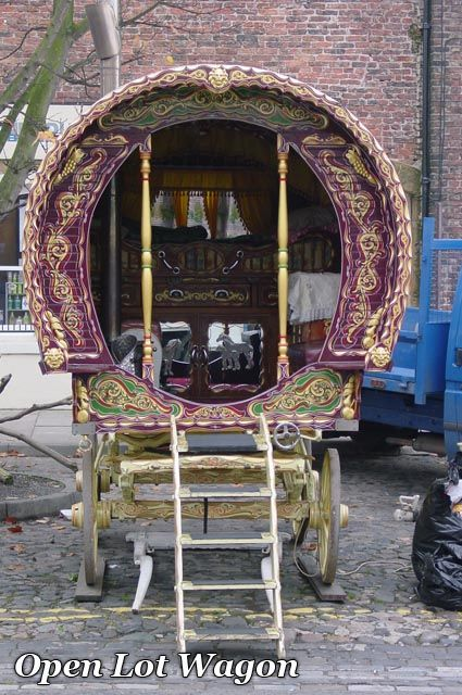 """Gypsyvans.com (USA). """"Our goal is to Build only Museum Quality Gypsy Caravans that replicate every detail of the original Caravans, being true to the artistic endeavors of the original builders.""""   Awesome vardos"""