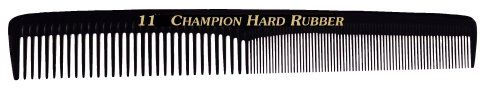 Champion Styling Comb 7' Edged, Flexible Back Fine/Coarse Teet *** See this great product.
