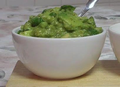 Tomatillo Guacamole @ Mexican Recipe Box