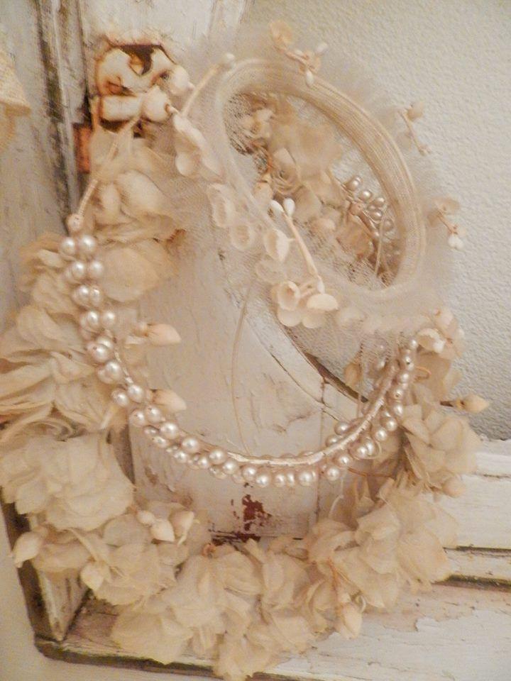 antique French bridal tiara