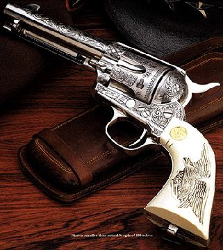 I think I want a pistol with a colorful cloud of images shooting out of the barrel  This is a pretty pistol!!